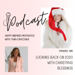 Looking back on 2020 with Christmas blessings