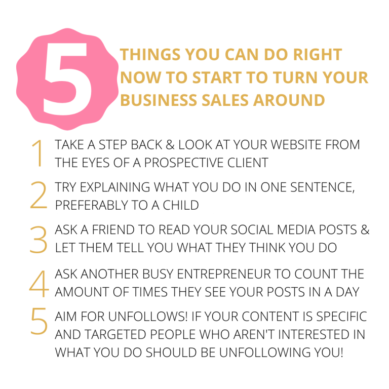 5 THINGS YOU CAN DO RIGHT NOW