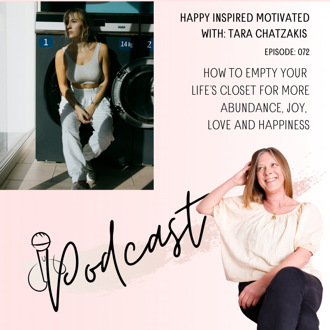 How to empty your life's closet for more abundance, joy, love and happiness
