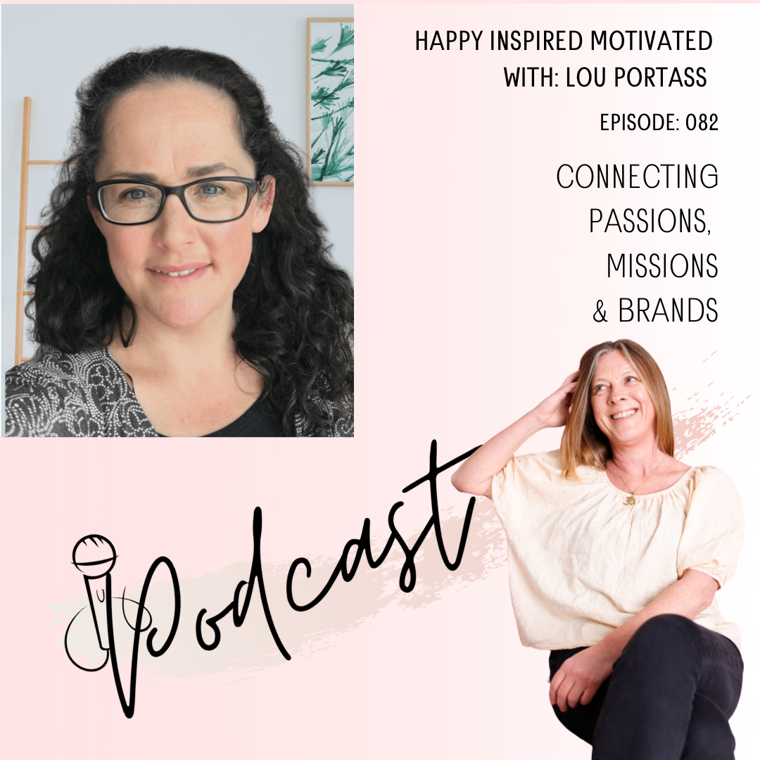 Lou Portass episode 82 happy inspired motivated Podcast