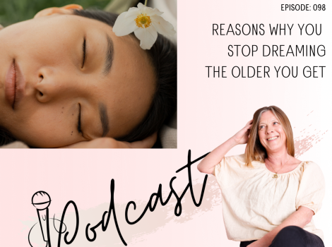 Reasons why you stop dreaming the older you get episode 98 happy inspired motivated Podcast